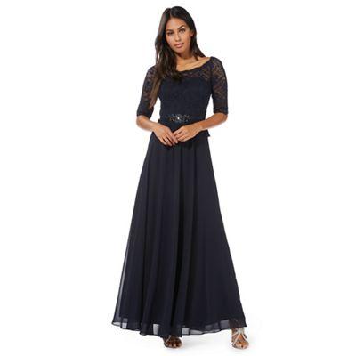 No. 1 Jenny Packham Blue \'Selena\' evening dress | Debenhams