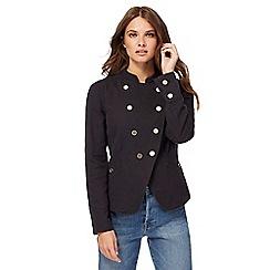 Nine by Savannah Miller - Black military jacket