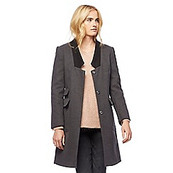 Nine by Savannah Miller - Dark grey city coat