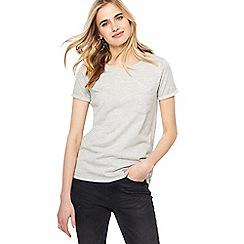 Nine by Savannah Miller - Grey 'On Cloud Nine' embroidered t-shirt