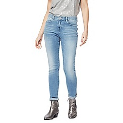Nine by Savannah Miller - Light blue mid wash skinny jeans