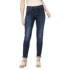 Nine by Savannah Miller - Dark blue mid wash skinny jeans