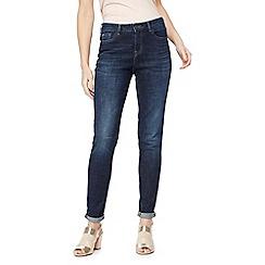 Nine by Savannah Miller - Dark blue mid wash skinny jeans