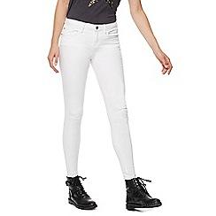 Nine by Savannah Miller - White skinny jeans