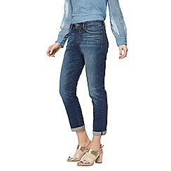Nine by Savannah Miller - Dark blue turn up boyfriend jeans