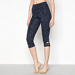 Nine by Savannah Miller - Black lattice detail leggings