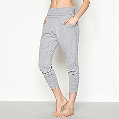 Nine by Savannah Miller - Light grey jersey yoga pants