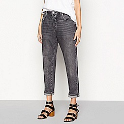 Nine by Savannah Miller - Near black boyfriend jeans