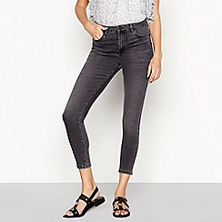Nine by Savannah Miller - Near black high waist skinny jeans
