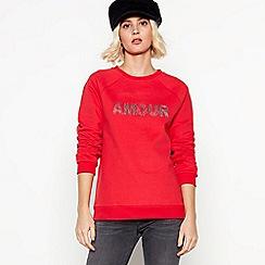 Nine by Savannah Miller - Red 'Amour' Sweatshirt