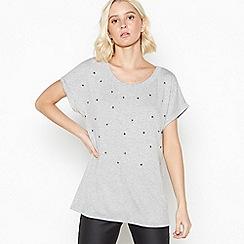 Nine by Savannah Miller - Grey Star Studded T-Shirt