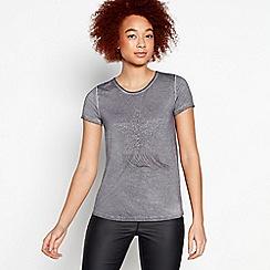 Nine by Savannah Miller - Dark Grey Chain Star T-Shirt