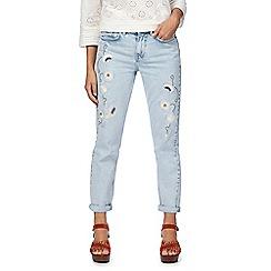 Nine by Savannah Miller - Light blue washed slim fit jeans