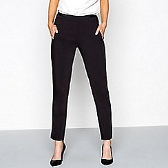 J by Jasper Conran - Black straight leg trousers