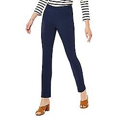 J by Jasper Conran - Navy tapered leg trousers