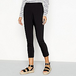 J by Jasper Conran - Black tapered leg trousers