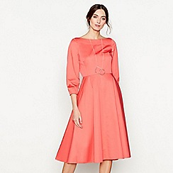 J by Jasper Conran - Coral midi dress