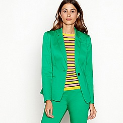 J by Jasper Conran - Bright green cotton blazer