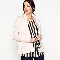 J by Jasper Conran - Light pink edge to edge cardigan