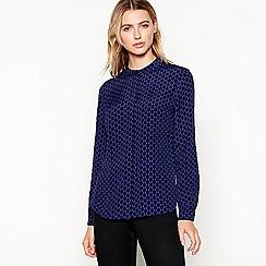 J by Jasper Conran - Black spot print shirt