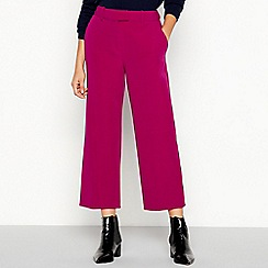 J by Jasper Conran - Pink cropped trousers