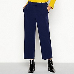 J by Jasper Conran - Navy cropped trousers
