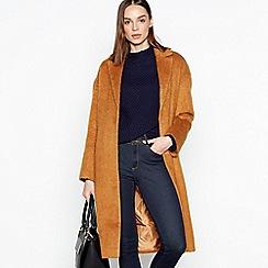 J by Jasper Conran - Camel longline coat