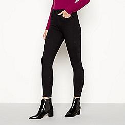 J by Jasper Conran - Black 'Lift and Shape' skinny fit jeans