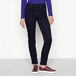 J by Jasper Conran - Blue 'Sculpt' lift and shape slim fit jeans
