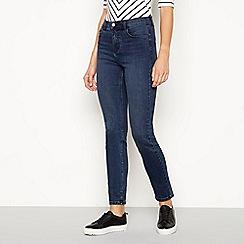 J by Jasper Conran - Blue washed 'Sculpt' slim fit jeans