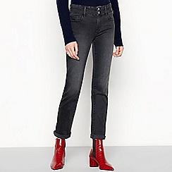 J by Jasper Conran - Grey 'Lift and Shape' straight leg jeans