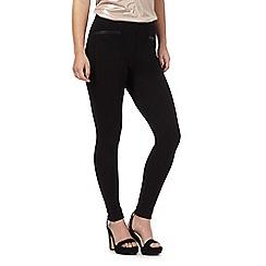 The Collection Petite - Black pocket trim petite leggings