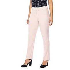 The Collection Petite - Pale pink slim fit petite trousers