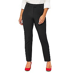 The Collection Petite - Grey slim fit petite trousers