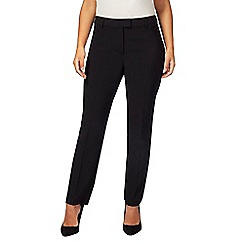 Principles Collection Petite - Black slim leg petite trousers