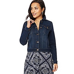 The Collection Petite - Dark blue denim petite jacket