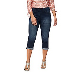 The Collection Petite - Dark blue cropped petite jeggings
