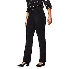 Principles Collection Petite - Black straight leg petite suit trousers