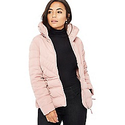 The Collection Petite - Light pink padded petite jacket