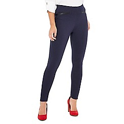 The Collection Petite - Navy petite ponte leggings