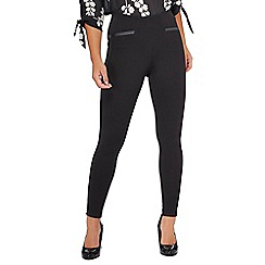 The Collection Petite - Black petite ponte leggings