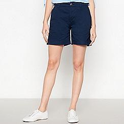 Principles Petite - Navy Petite Chino Shorts