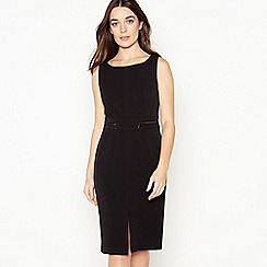 Principles Collection - Black Knee Length Petite Shift Dress