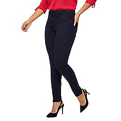 The Collection Petite - Navy skinny fit petite jeggings