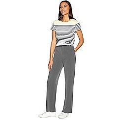 Maine New England - Grey straight leg Pablo trousers