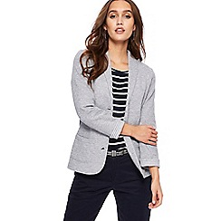 Maine New England - Grey jersey blazer