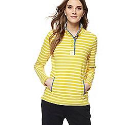 Maine New England - Yellow striped sweatshirt
