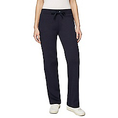 Maine New England - Navy quilted waistband jogging bottoms