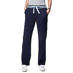 Maine New England - Navy striped waist jogging bottoms