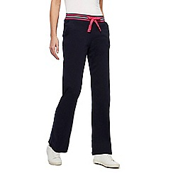 Maine New England - Black striped waist jogging bottom